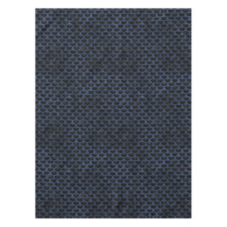 SCALES3 BLACK MARBLE & BLUE STONE TABLECLOTH