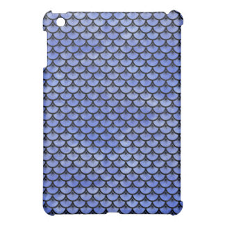 SCALES3 BLACK MARBLE & BLUE WATERCOLOR (R) COVER FOR THE iPad MINI