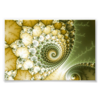 Scales Fractal Art Photo Print