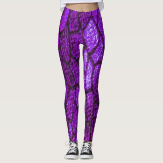 Scales of Fashion in Lavender Lust Leggings