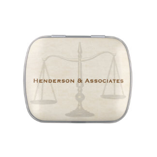 Scales of Justice, Attorney Candy Tin