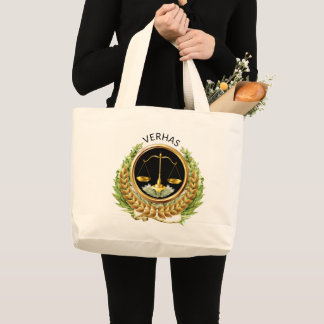 Scales of Justice Attorney Tote
