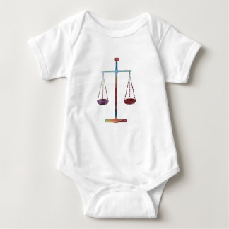 Scales of justice baby bodysuit
