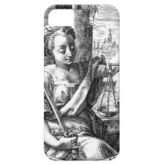 Scales of Justice iPhone 5 Cases
