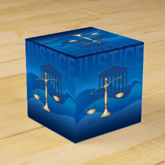 Scales of Justice Favour Box