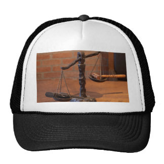 Scales Of Justice Mesh Hats