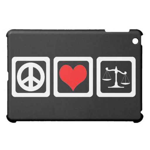 scales of justice iPad mini cover