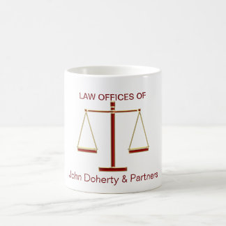 Scales of Justice | Law Basic White Mug