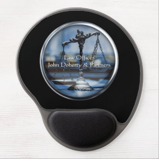 Scales of Justice - Lawyer Gel Mousepad