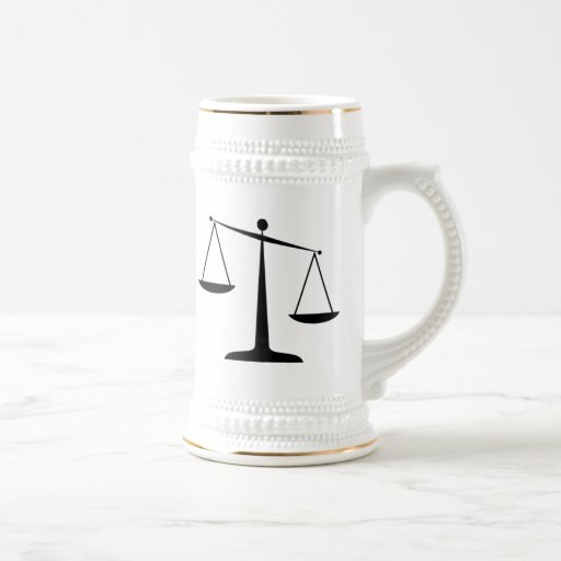 Scales of Justice Mugs