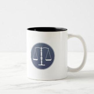Scales of Justice - Mug