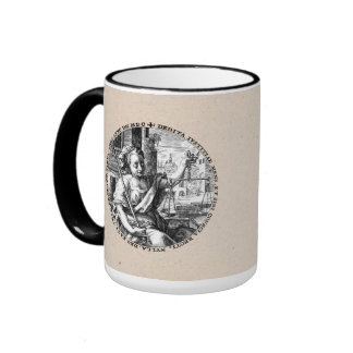 Scales of Justice Ringer Mug