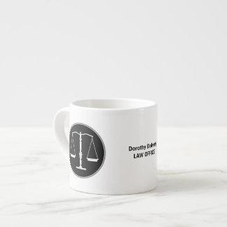 Scales of Justice Mug Espresso Mug