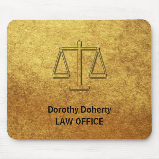 Scales of Justice   Personalizable Mouse Pad