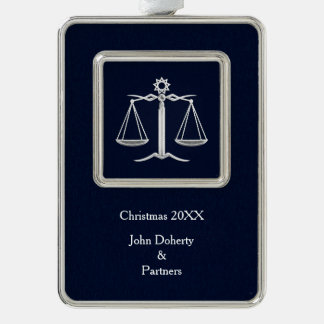 Scales of Justice Personalizable Ornament