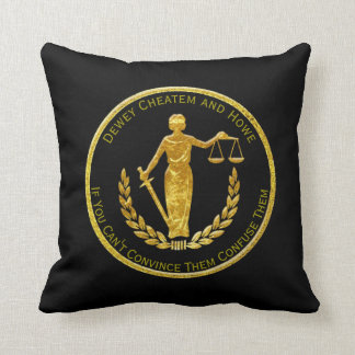 Scales of Justice Personalize Throw Pillow