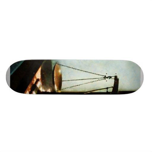 Scales of Justice Custom Skate Board