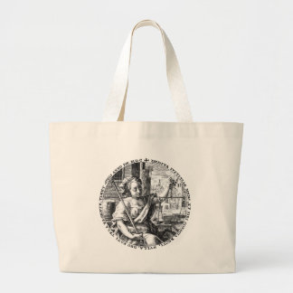 Scales of Justice Jumbo Tote Bag
