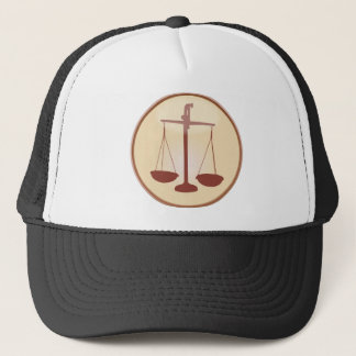 Scales of Justice Trucker Hat