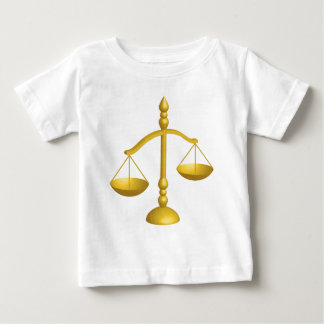 SCALES OF LAW AND JUSTICE BABY T-Shirt