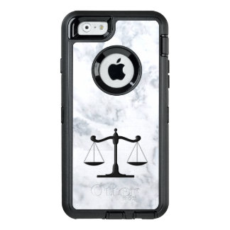 Scales on Marble OtterBox Defender iPhone Case