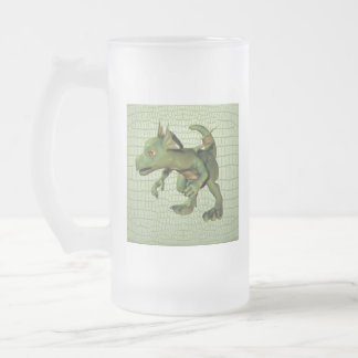 Scaley Dragon Frosted Beer Mug