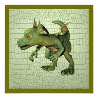 Scaley Dragon Invitations