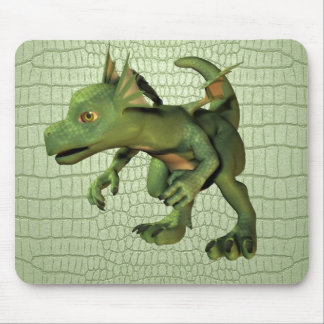 Scaley Dragon Mouse Pad