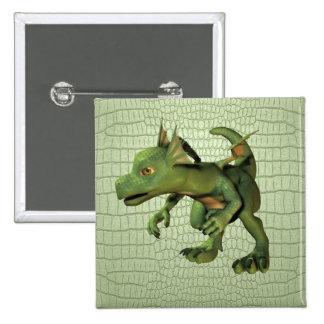 Scaley Dragon Pin