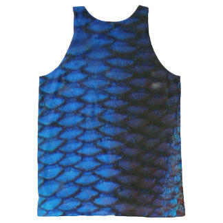 Scaley Tank-top All-Over Print Singlet