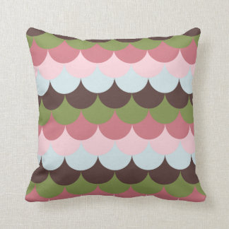 Scallop - Ice Cream Dream Throw Pillow