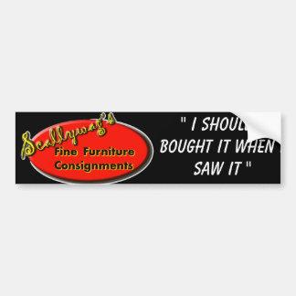 Scallywag Bumper Sticker