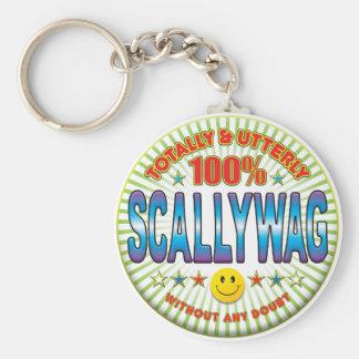 Scallywag Totally Keychain
