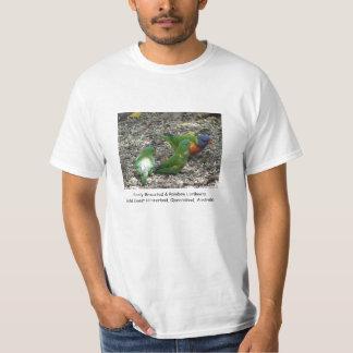 Scaly Breasted & Rainbow Lorikeets Tshirt