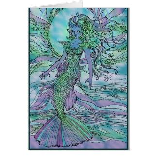 Scaly Mermaid Card