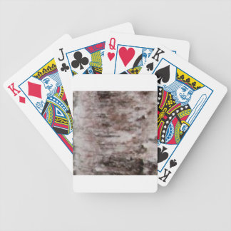 scaly white bark art bicycle playing cards