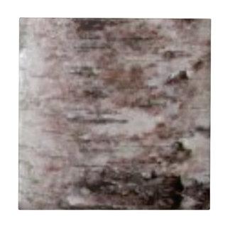 scaly white bark art ceramic tile