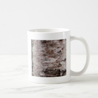 scaly white bark art coffee mug