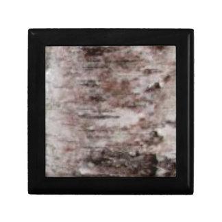 scaly white bark art gift box