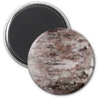 scaly white bark art magnet