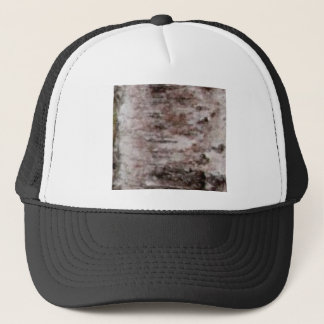 scaly white bark art trucker hat