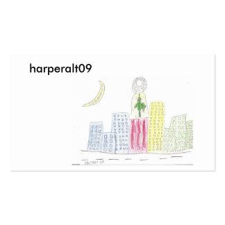 scan0002, harperalt09 pack of standard business cards