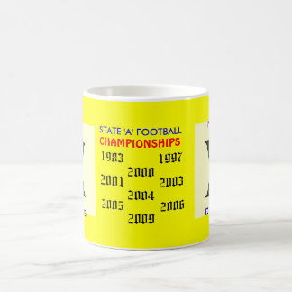 scan, scan, STATE 'A' FOOTBALL          , CHAMP... Coffee Mug