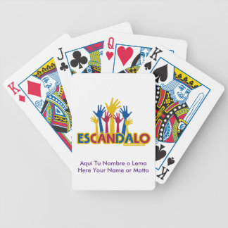SCANDAL GAME BICYCLE PLAYING CARDS
