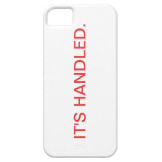Scandal It's Handled iPhone Case