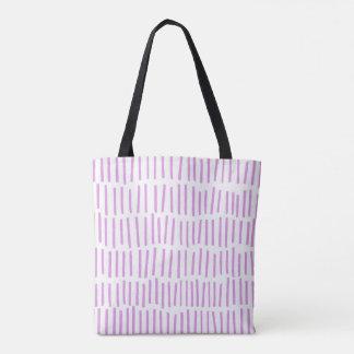 Scandi Dash Pink Tote Bag