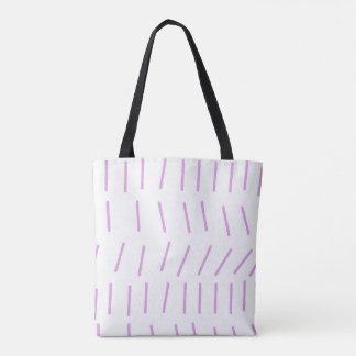 Scandi Stroke Chalk Pink Tote Bag