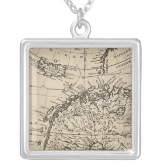 Scandinavia 4 silver plated necklace