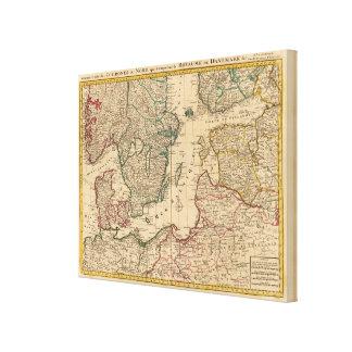 Scandinavia, Baltic Sea, Sweden, Denmark Canvas Print