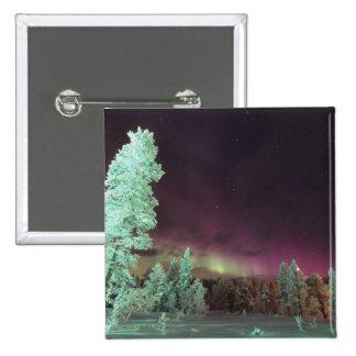Scandinavia, Finland, Lapland, Kakslauttanen, 15 Cm Square Badge